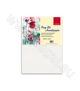 Akvarel papir Feng-Shi | 200 g/m2 | 50×70 cm | grobi | Pak 10 Kom