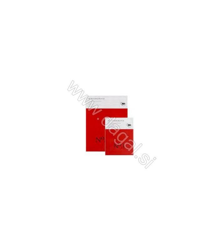 Blok za akrilne barve No. 1 | 10 listov | 360 g/m2