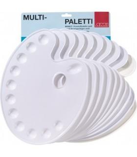 MULTI-PALETA ovalna 36×27 cm | 10 vložkov