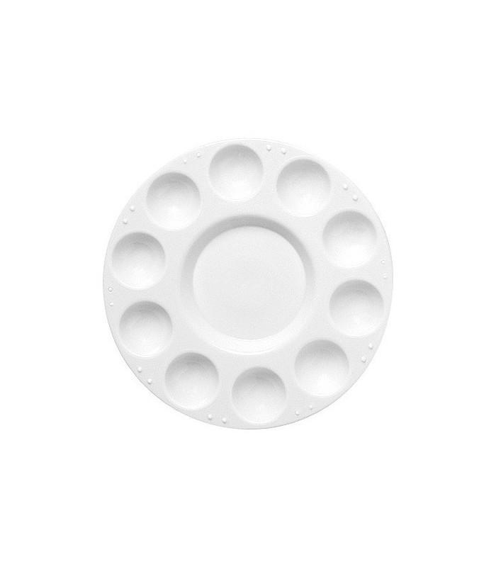 Plastična paleta okrogla 17 cm