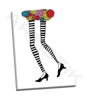 Skinny Legs 1 - Weiss, Jan