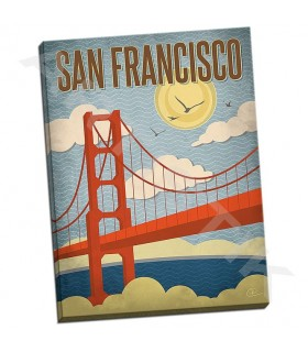 San Francisco Golden Gate Bridge - Pulve, Renee