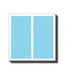 Foto-kolaž na platnu - kvadrat - postavitev B