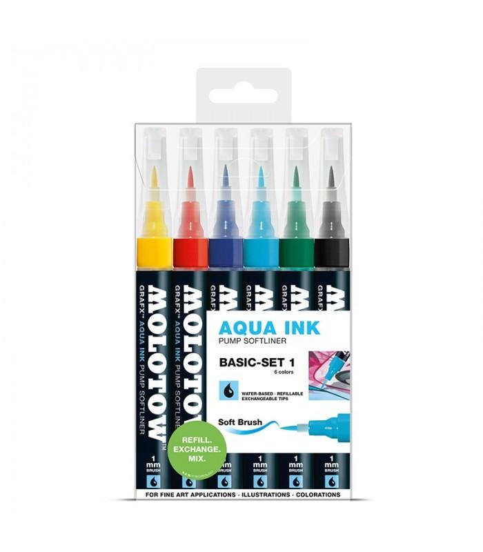 MOLOTOW GRAFY Aqua Ink Basic Set no.1