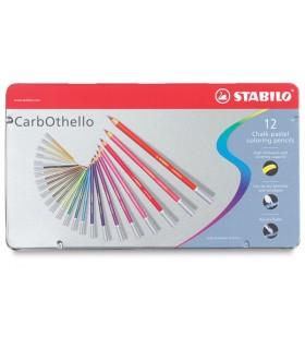 Komplet pastelnih svinčnikov Stabilo Carbothello (12 kosov)