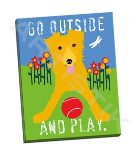 Go Outside and Play - Oliphant, Ginger