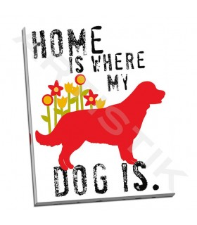 Home Is Where My Dog Is - Oliphant, Ginger
