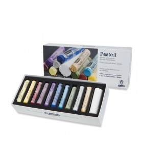 Schmincke komplet suhih pastelov 10 + bela (XL)