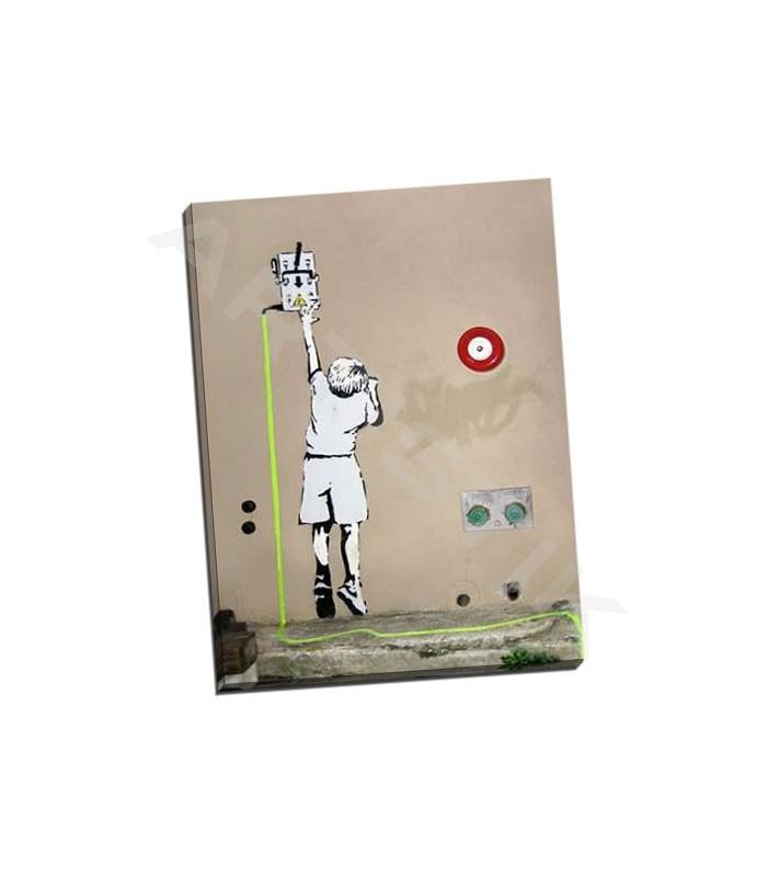 Boy - North 6th Avenue, NYC - Banksy
