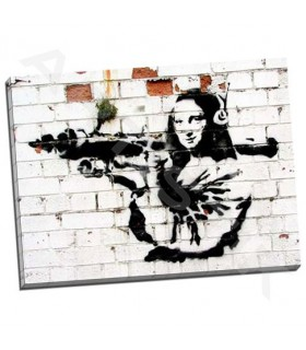 Noel Street, Soho, London - Banksy
