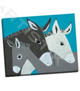 Donkey Family - Craig, Casey