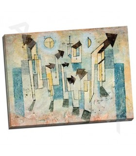 Mural from the Temple of Longing Thither - Klee, Paul