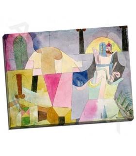 Black Columns in a Landscape - Klee, Paul