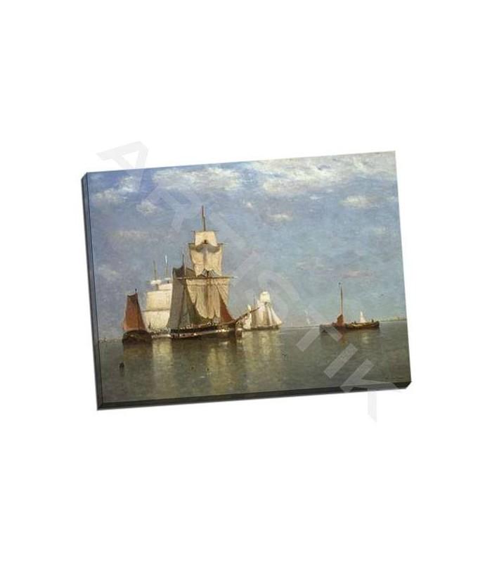 Ships lying off flushing - Clays, Paul Jean