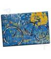 Blue Graffiti Bike - Thetford, Daryl