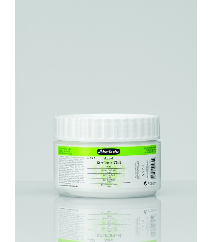 Akrilni heavy body gel - mat 250 ml