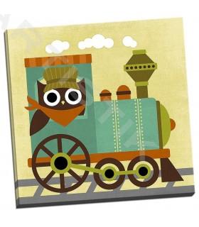 Owl Train Conductor - Lee, Nancy