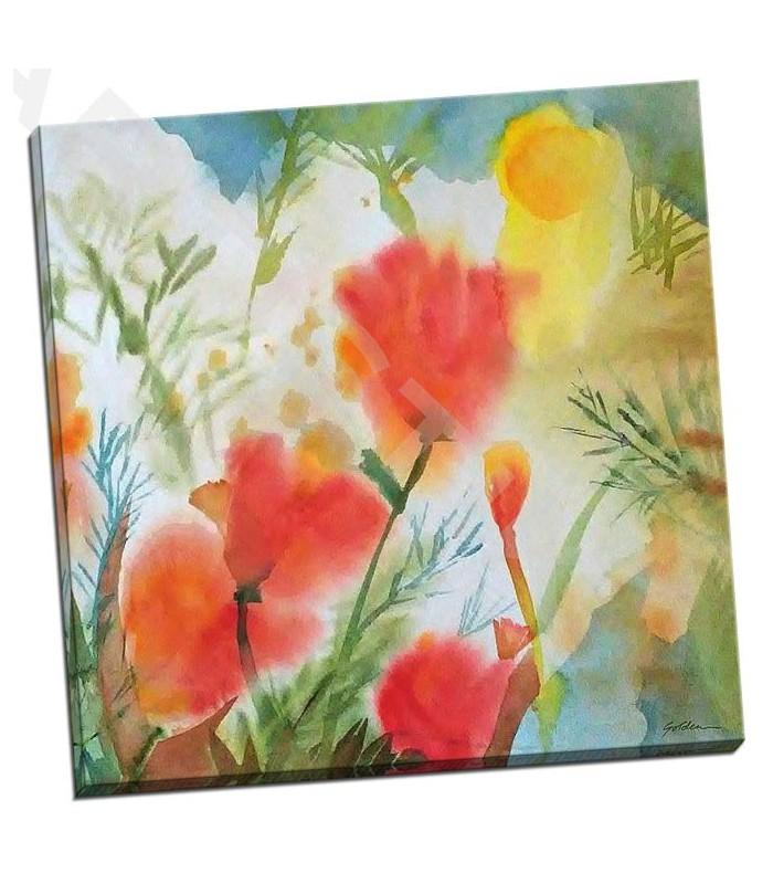 Orange Poppy Reverie - Golden, Sheila