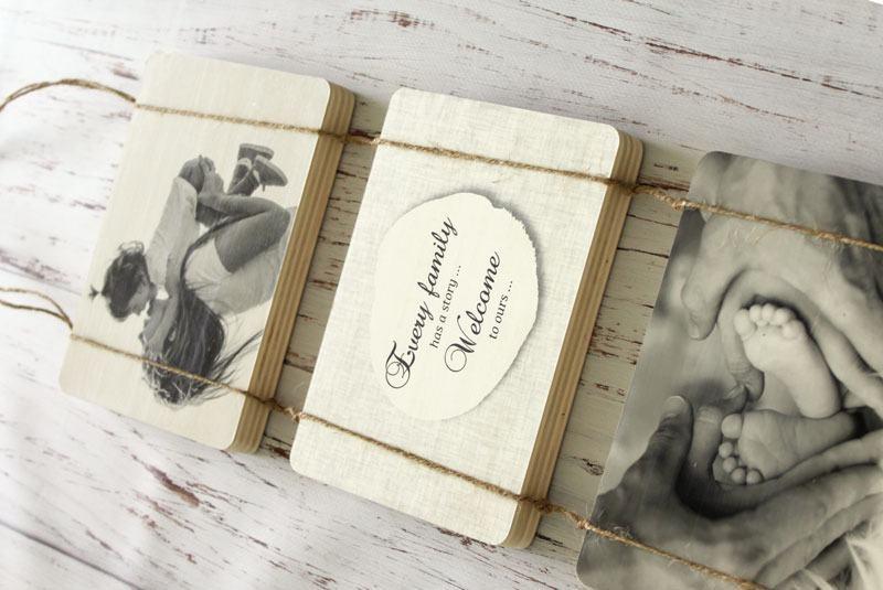 FOTOBLOK - Trio na vrvici - Slika